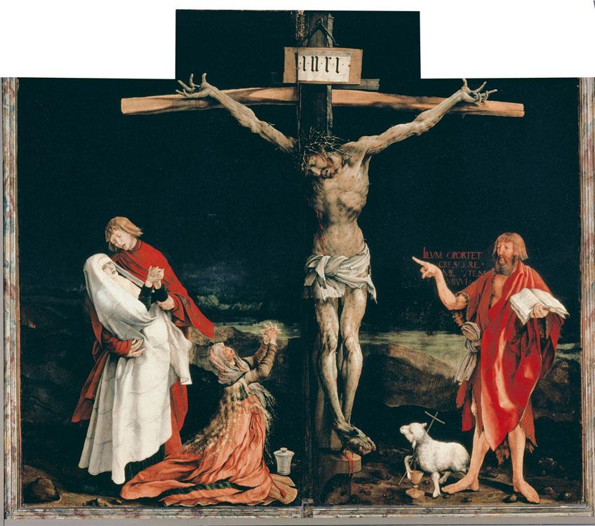 Matthias Grünewald, Polittico di Issenheim, 1512-16. Colmar, Musée d'Unterlinden