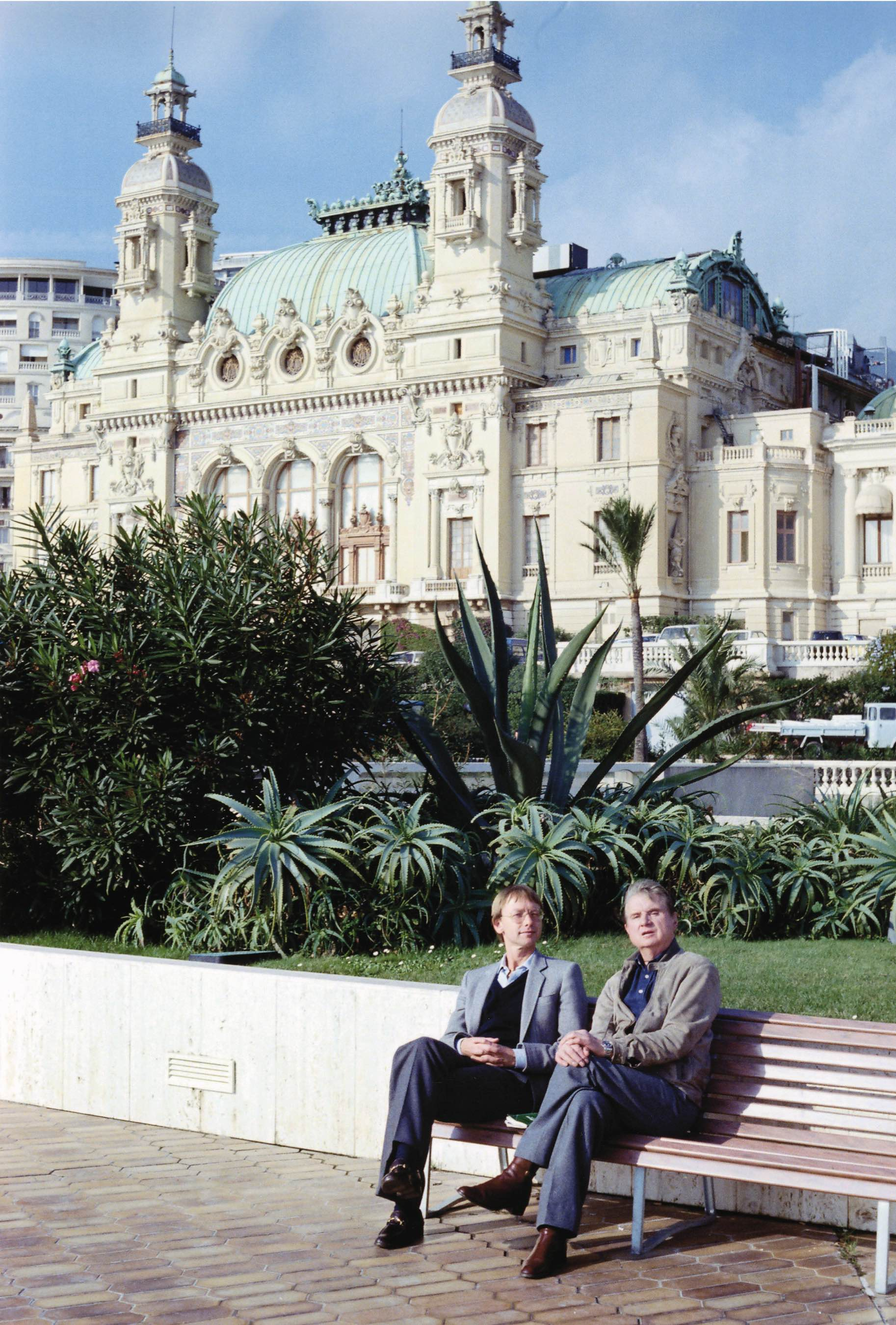 Francis Bacon a Monte-Carlo, 1981 - (c) Eddy Batache - courtesy Francis Bacon MB Art Foundation - MB Art Collection