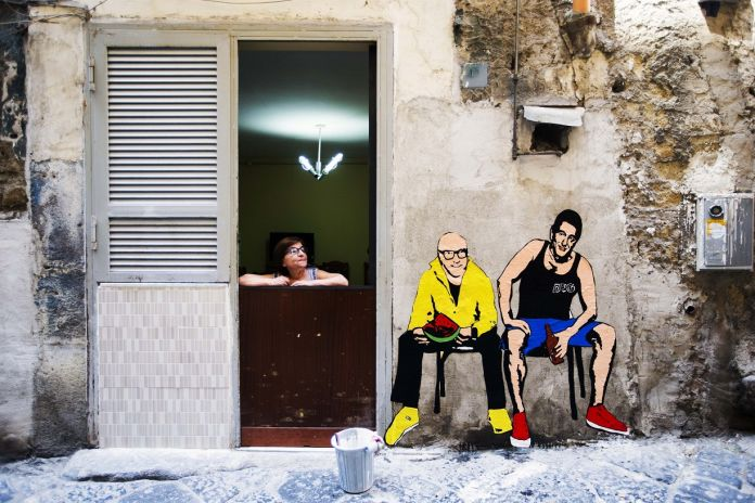 Roxy in the Box, Dolce & Gabbana, Da PoPolari a PoPolani, Napoli 2016 , photo Sergio Siano
