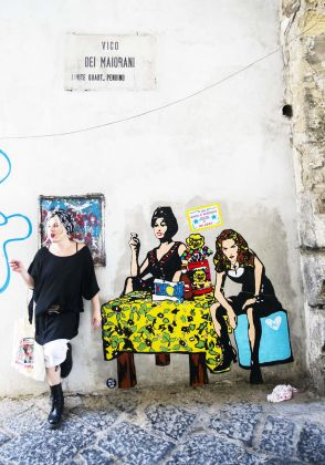 Roxy in the Box, Sophia Loren e Madonna, Da PoPolari a PoPolani, Napoli 2016, photo Sergio Siano