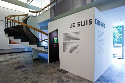 The Poster Remediated – installation view at Poster Museum, Varsavia 2016 – photo Piotr Syndoman