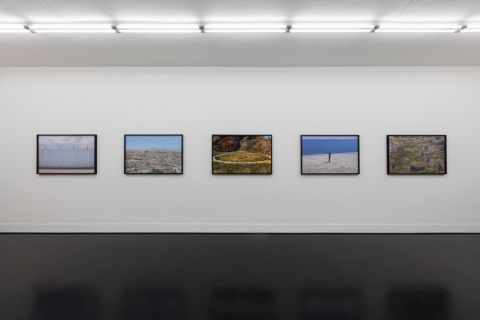 Yannis Bournias – Disputed dialogue - installatio view at Galleria Pack, Milano 2016
