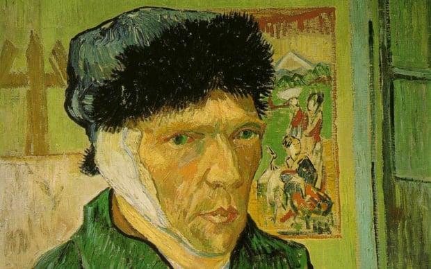 Vincent Van Gogh, Autoritratto con l'orecchio tagliato, 1889