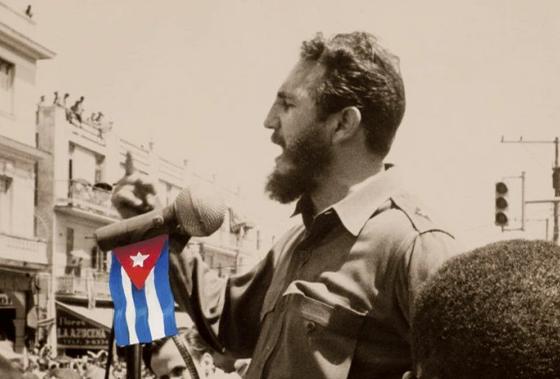 Fidel Castro secondo Alberto Korda (particolare)