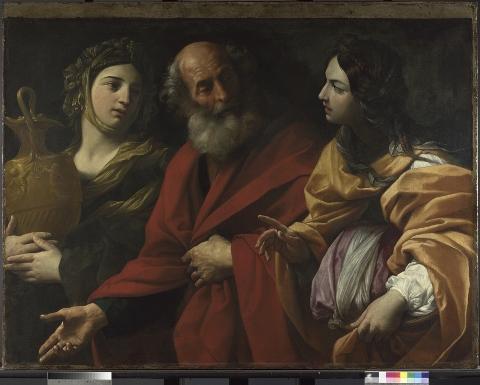 Guido Reni,Lot e le sue figlie 1615-16 ca., © The National Gallery, London