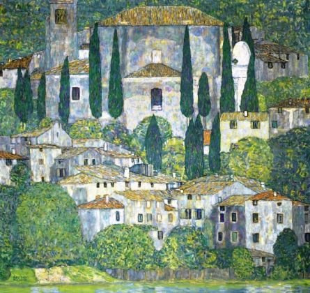 Gustav Klimt, Paesaggio a Malcesine, estate1913