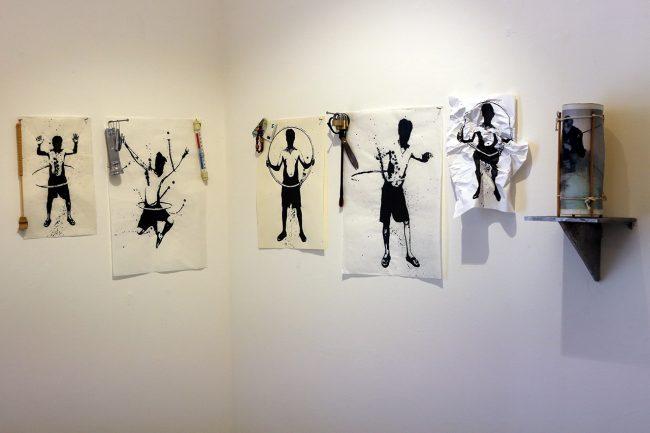 H.H. Lim – Silenzio, ma non troppo - exhibition view at Galleria dell'Accademia di Belle Arti, Macerata 2016
