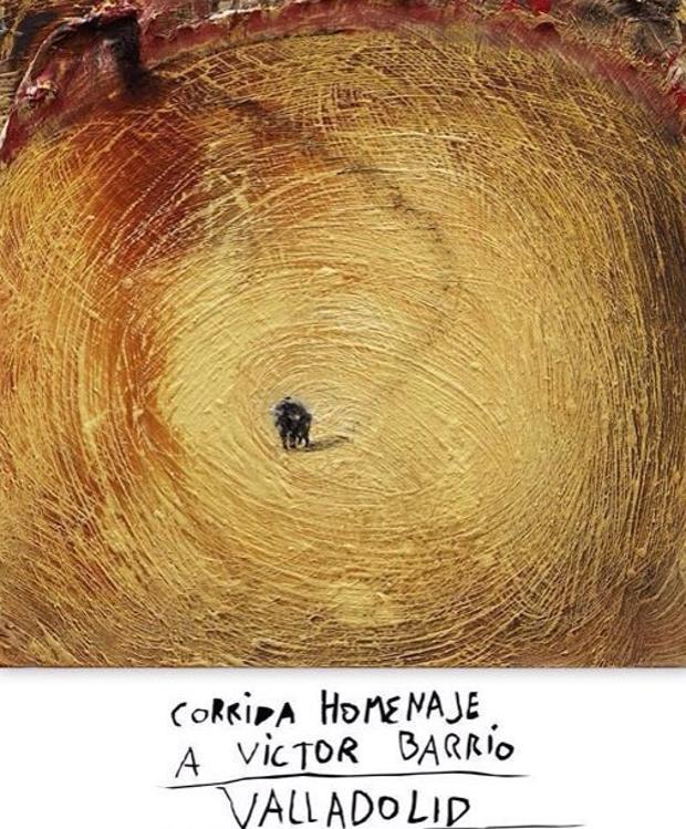 Il manifesto per la Corrida disegnato da Miquel Barceló