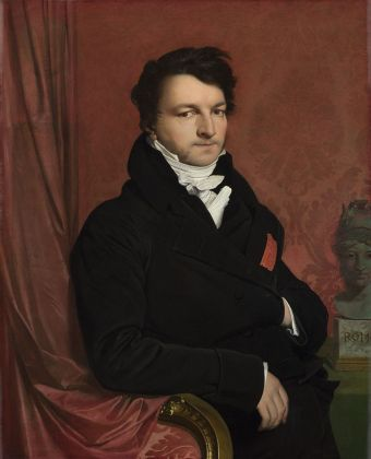 Jean-Auguste-Dominique Ingres, Monsieur de Norvins, 1811-12 - © The National Gallery, London