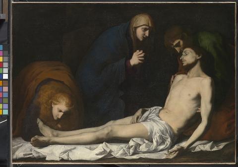 Jusepe de Ribera, Compianto sul Cristo morto, 1620 circa, © The National Gallery, London