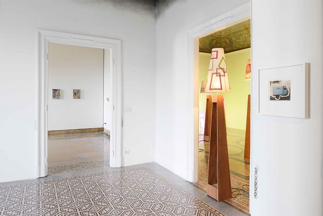 Marc Camille Chaimowicz – Now and Then… - installation view at Indipendenza, Roma 2016