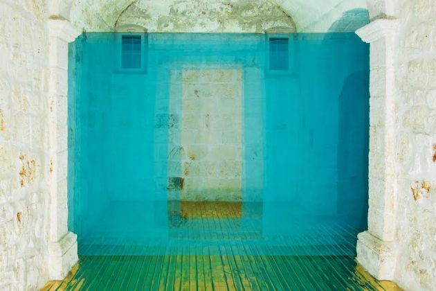 Mathew McWilliams – Observatory - installation view at Exchiesetta, Polignano a Mare 2016