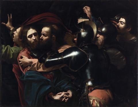 Caravaggio, La cattura di Cristo, 1602, National Gallery of Ireland, Dublino