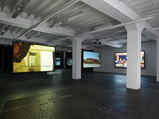 Nidole Miller - The Death of a School - exhibition view at CAC, Ginevra - photo Annik Wetter
