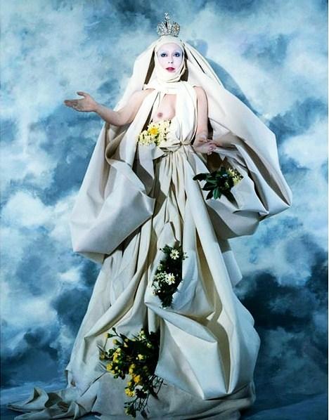 Orlan, White Virgin, 1983