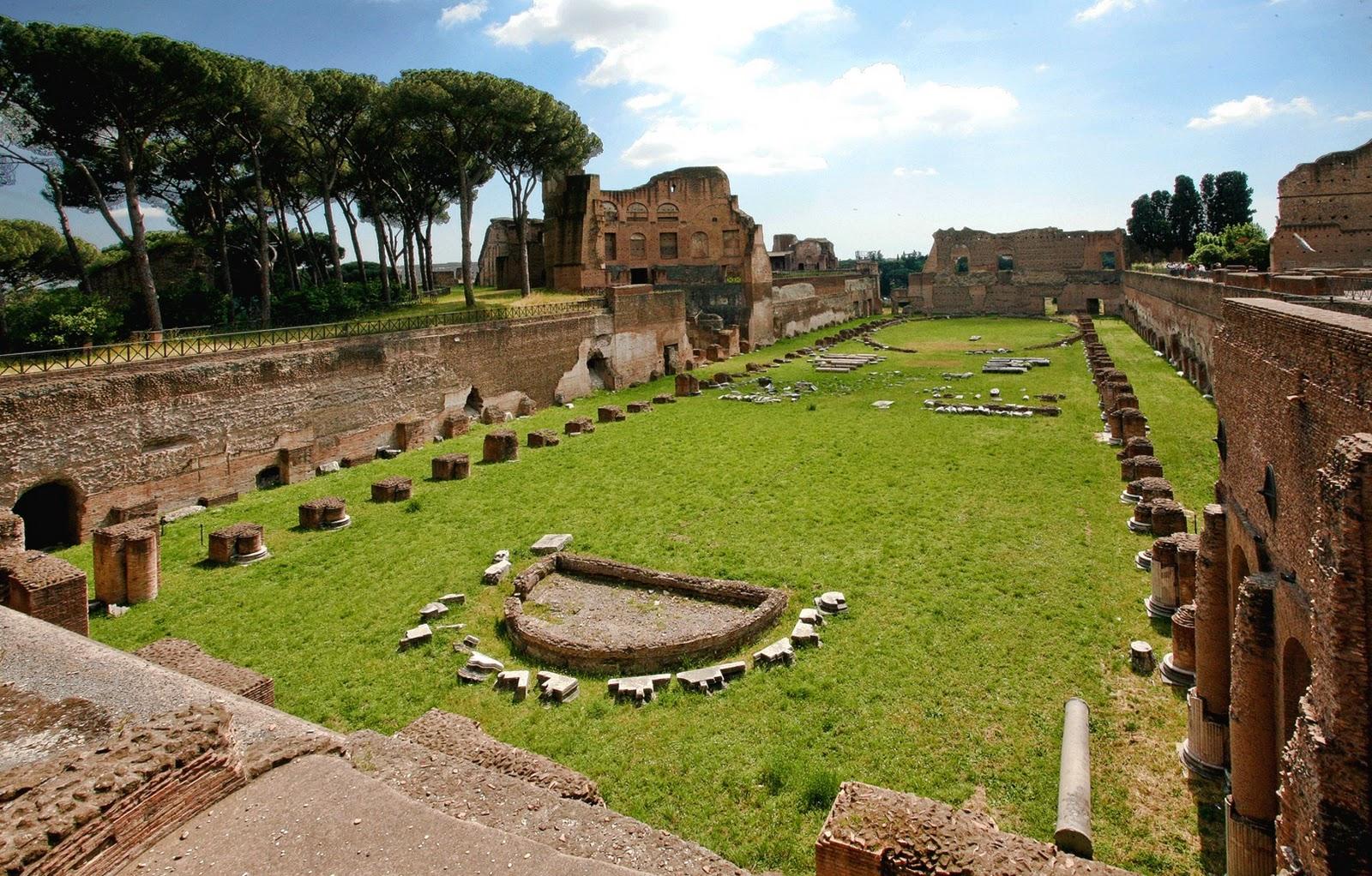 L'area archeologica del Palatino