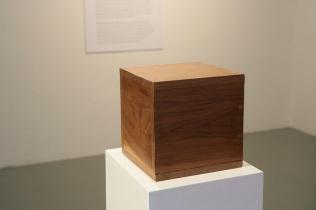 Robert Morris, Box with the sound of its own making, 1961 - Courtesy the artist and Sonnabend Collection Foundation