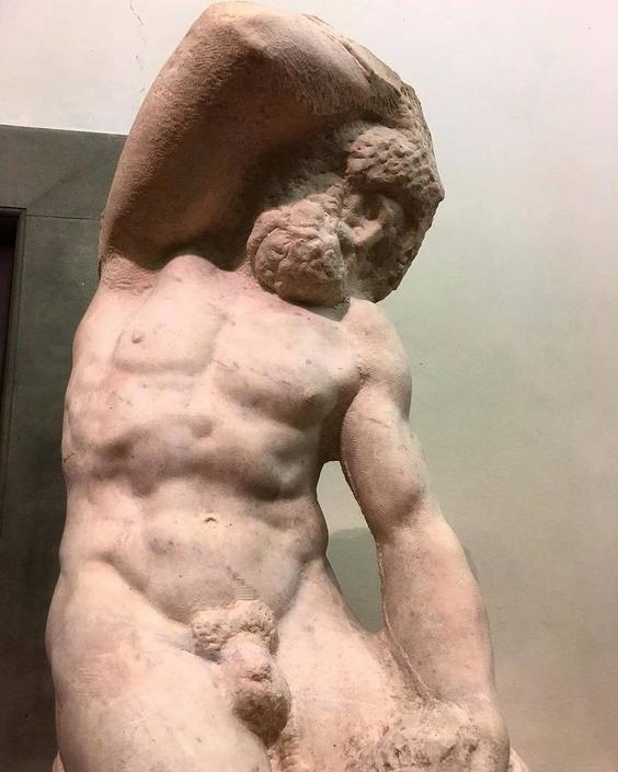 Un Prigione di Michelangelo Buonarroti