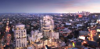 Frank Gehry progetto per l'8150 Sunset Boulevard