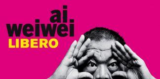 Ai Weiwei, Libero - la locandina della mostra a Palazzo Strozzi