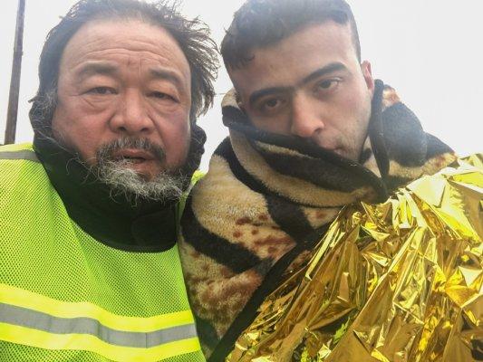 Ai Weiwei, #SafePassage (foto Foam Museum)