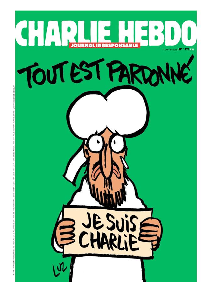 Charlie Hebdo, la copertina del numero pubblicato dopo la strage