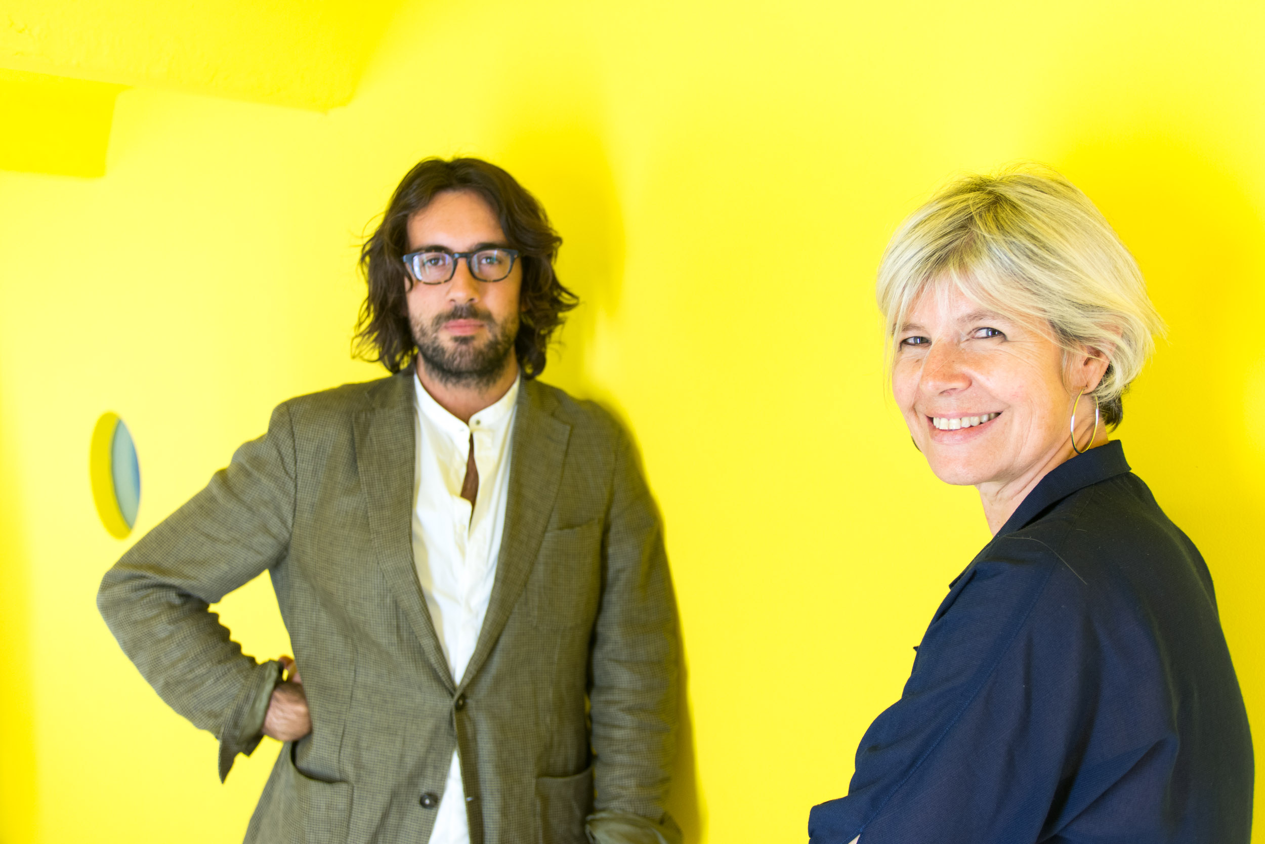 Clara Tosi Pamphili e Alessio de Navasques - A.I. Artisanal Intelligence, Milano 2016 - photo Andrea Buccella