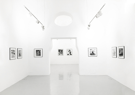 Dorothea Lange - A visuale life - installation view at Studio Trisorio, Napoli 2016