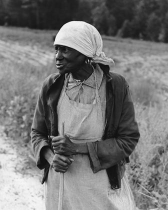 Dorothea Lange, Ex-Slave with a Long Memory, Alabama, 1937