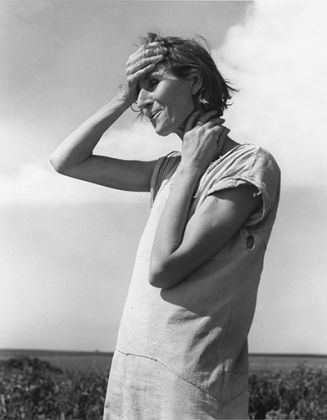Dorothea Lange, Woman of the High Plains, Texas Panhandle, 1938