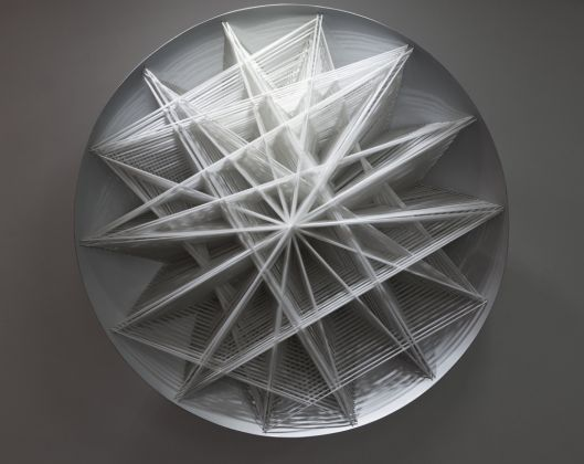 Emilio Cavallini, White. Star-like Structural Bifurcation, 1990