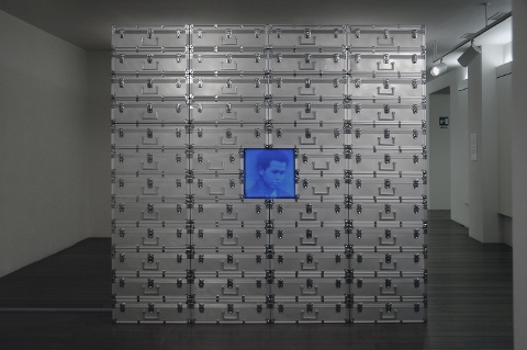 Fabio Mauri - Cina ASIA Nuova, 1996, Courtesy Studio Fabio Mauri