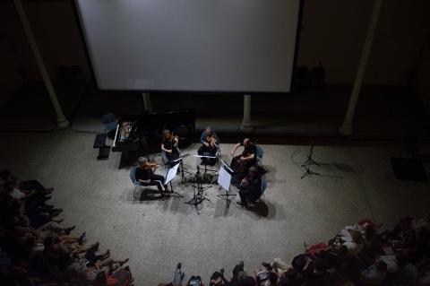 Firenze Suona Contemporanea 2016 - Erwin Wurm & Klangforum Wien - photo Zeno Cavallari