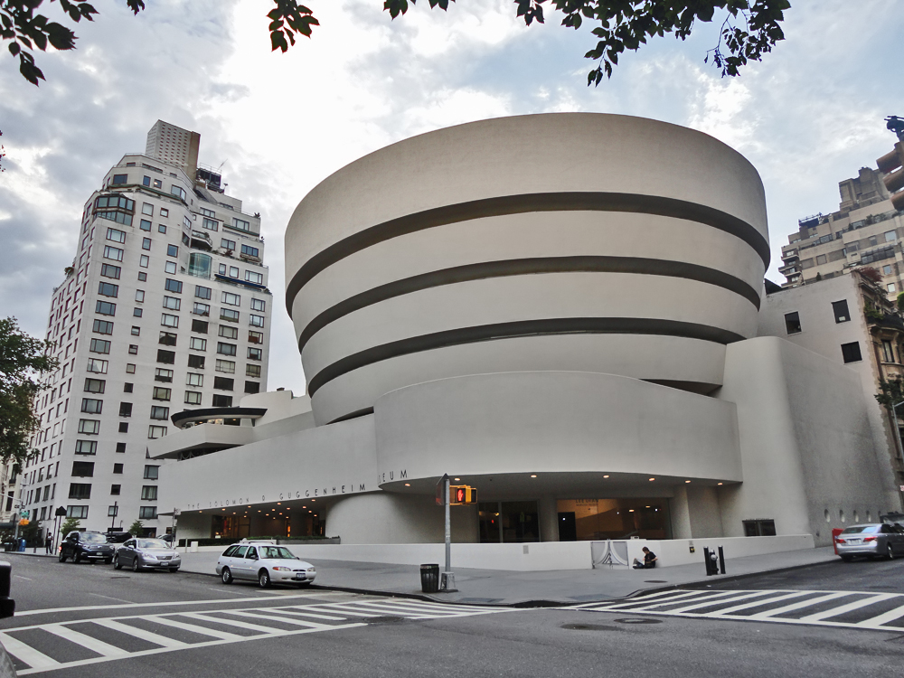 Frank Lloyd Wright, Guggenheim Museum, New York 1959