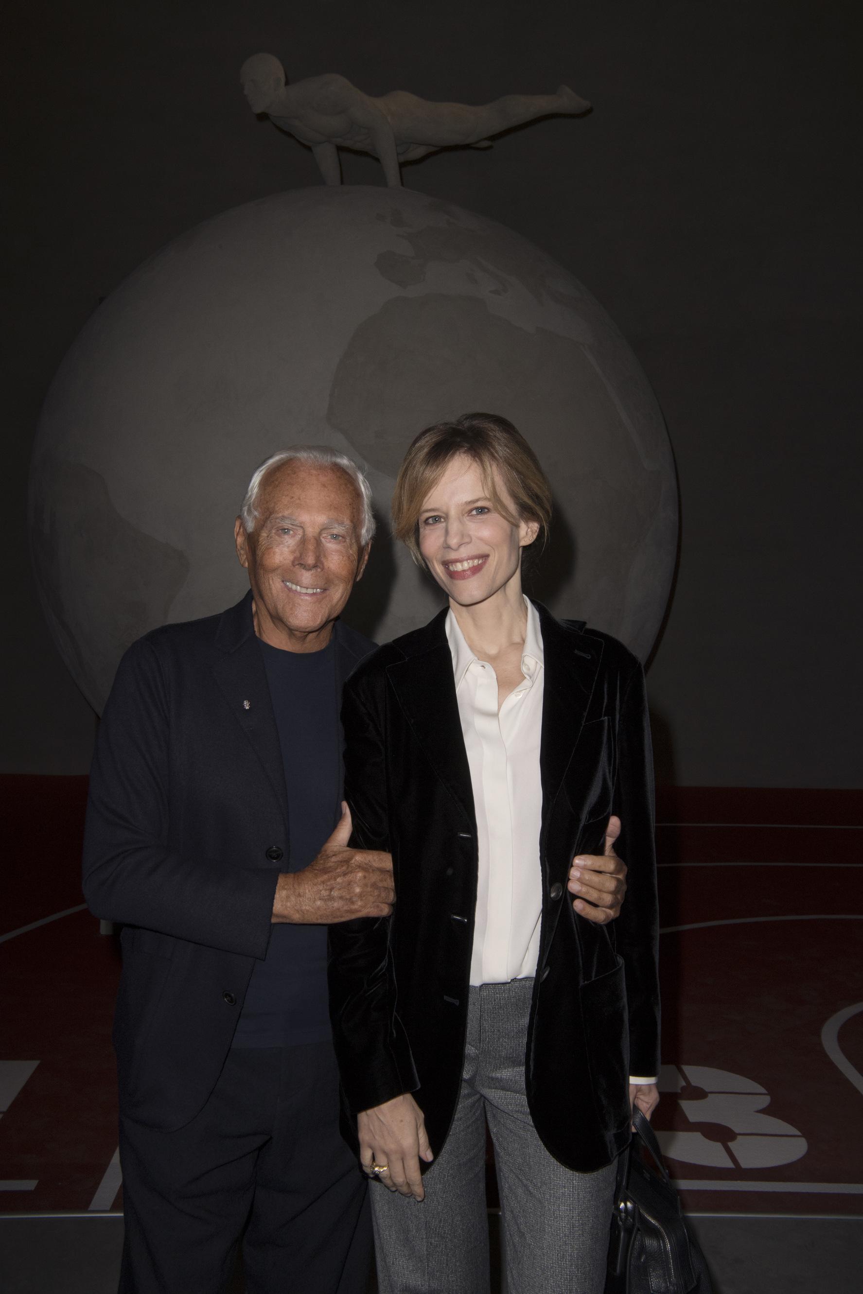 Giorgio Armani e Sonia Bergamasco – SGP | Artribune