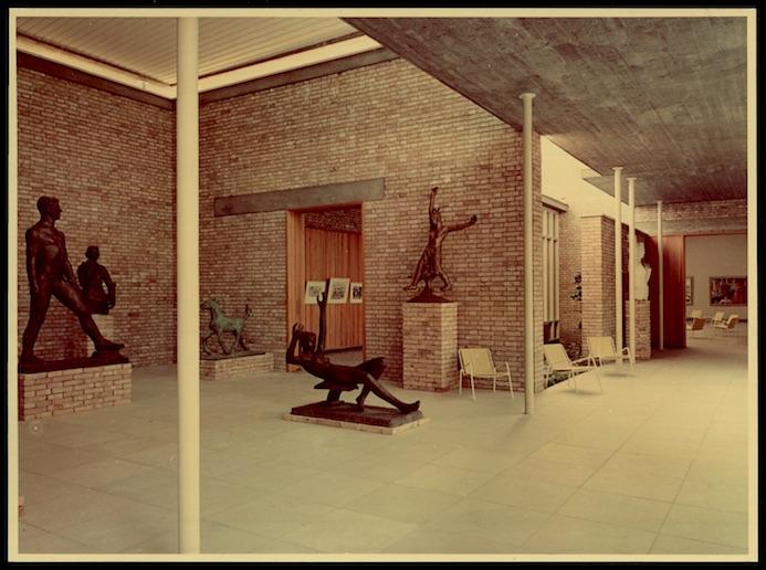 Il Padiglione Svizzera alla Biennale, in una foto nel 1952