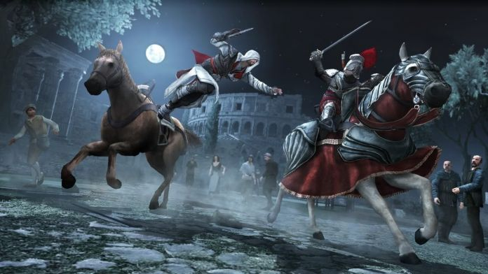 Immagine tratta dal gioco Assassin's Creed Brotherhood di Ubisoft del 2010
