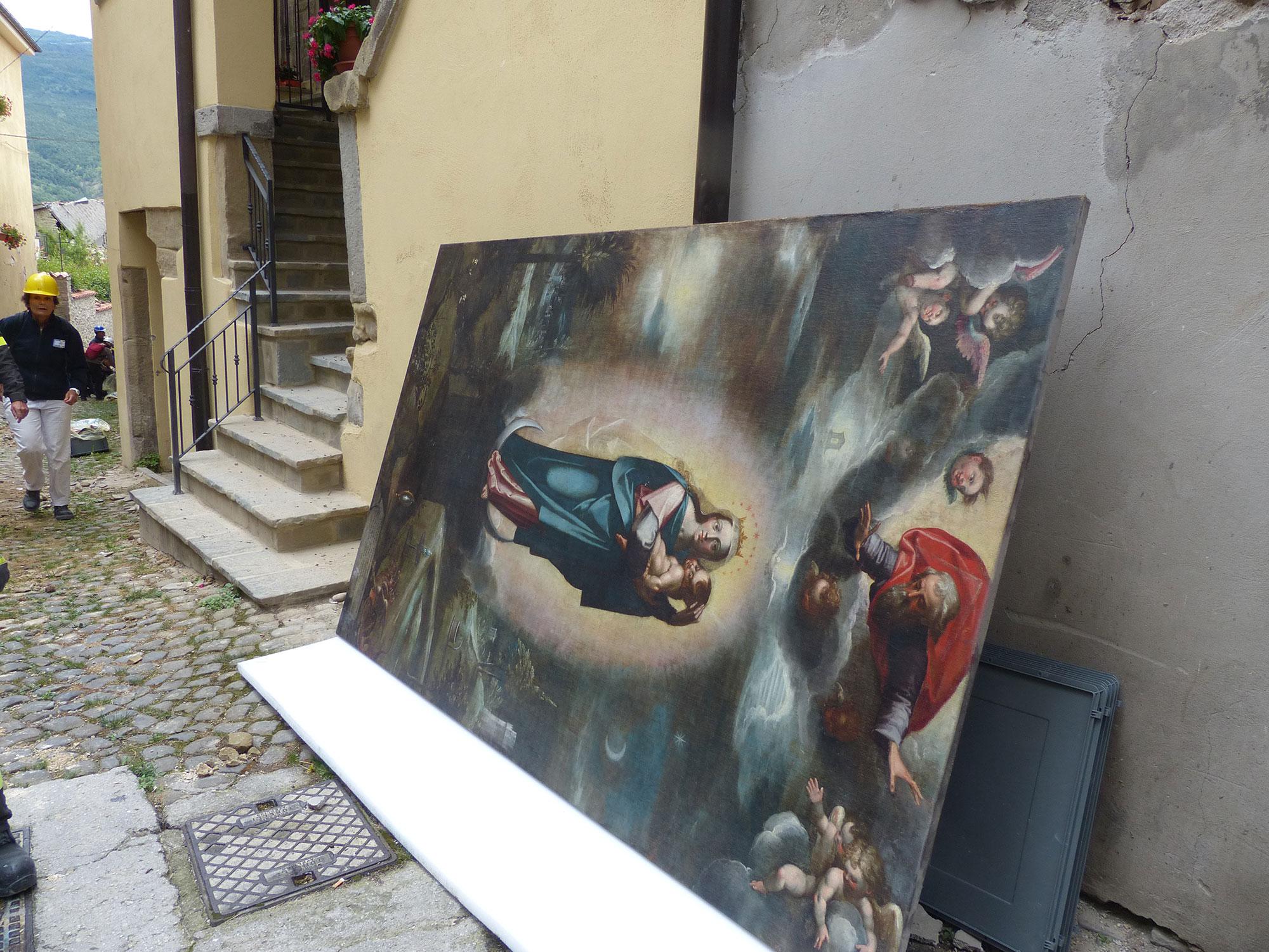 Terremoto Lazio Salvate Opere D Arte A Accumoli Artribune