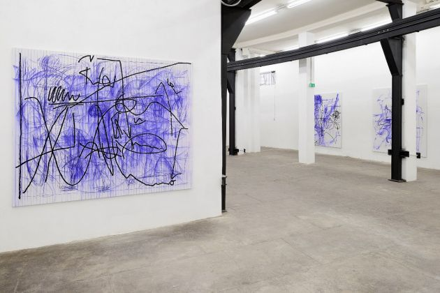 Jana Schröder – Spontacts FX – installation view at T293, Roma 2016 - Courtesy of the Artist & T293 - photo credit Roberto Apa