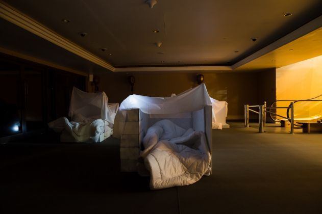Jumairy, Sleepless Pe-Tal, 2016 - installation view at Art Dubai - photo ©Daniella Baptista