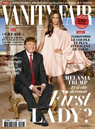 La foto di Regine Mahaux su una copertina di Vanit Fair