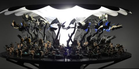 Mat Collishaw, The Garden of Unearthly Delights, 2009