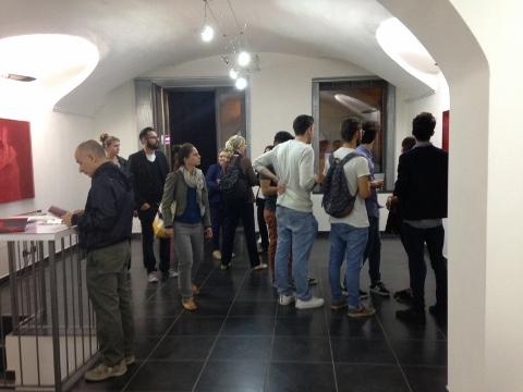 Ouverture 2016, Torino, Burning Giraffe Art Gallery