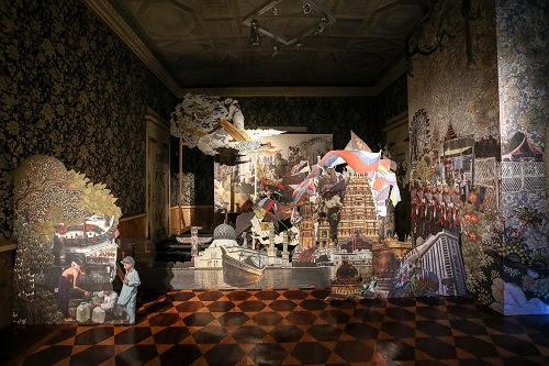Palazzo Reale, Ho visto un re - Francesco Simeti, Xanadu