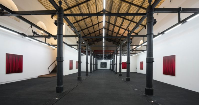Rachel Howard – Paintings of Violence (Why I am not a mere Christian) - exhibition view at Macro Testaccio, Roma 2016