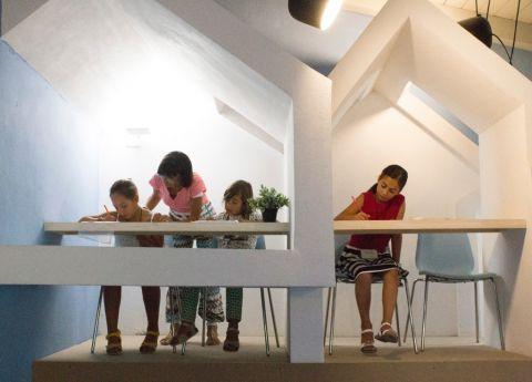 Scuola di Architettura per Bambini, FARM Cultural Park, Favara - photo Nadia Castronovo