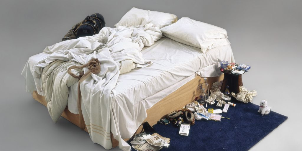 """Tracey Emin spiega la sua opera """"My Bed"""""""