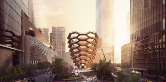 Vessel di Heatherwick a New York - credit Forbes Massie