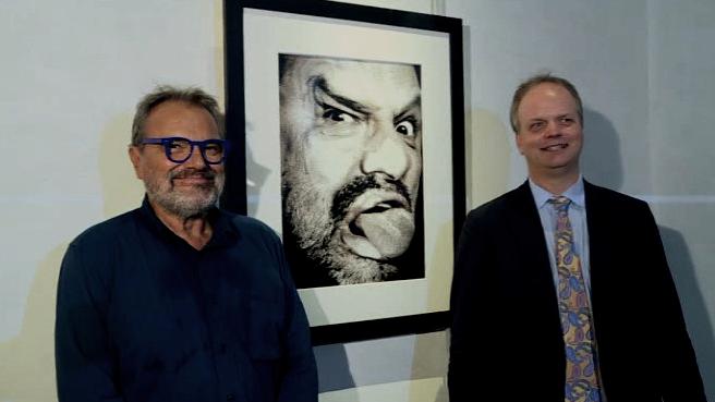 Firenze, Eike Schmidt e Oliviero Toscani agli Uffizi