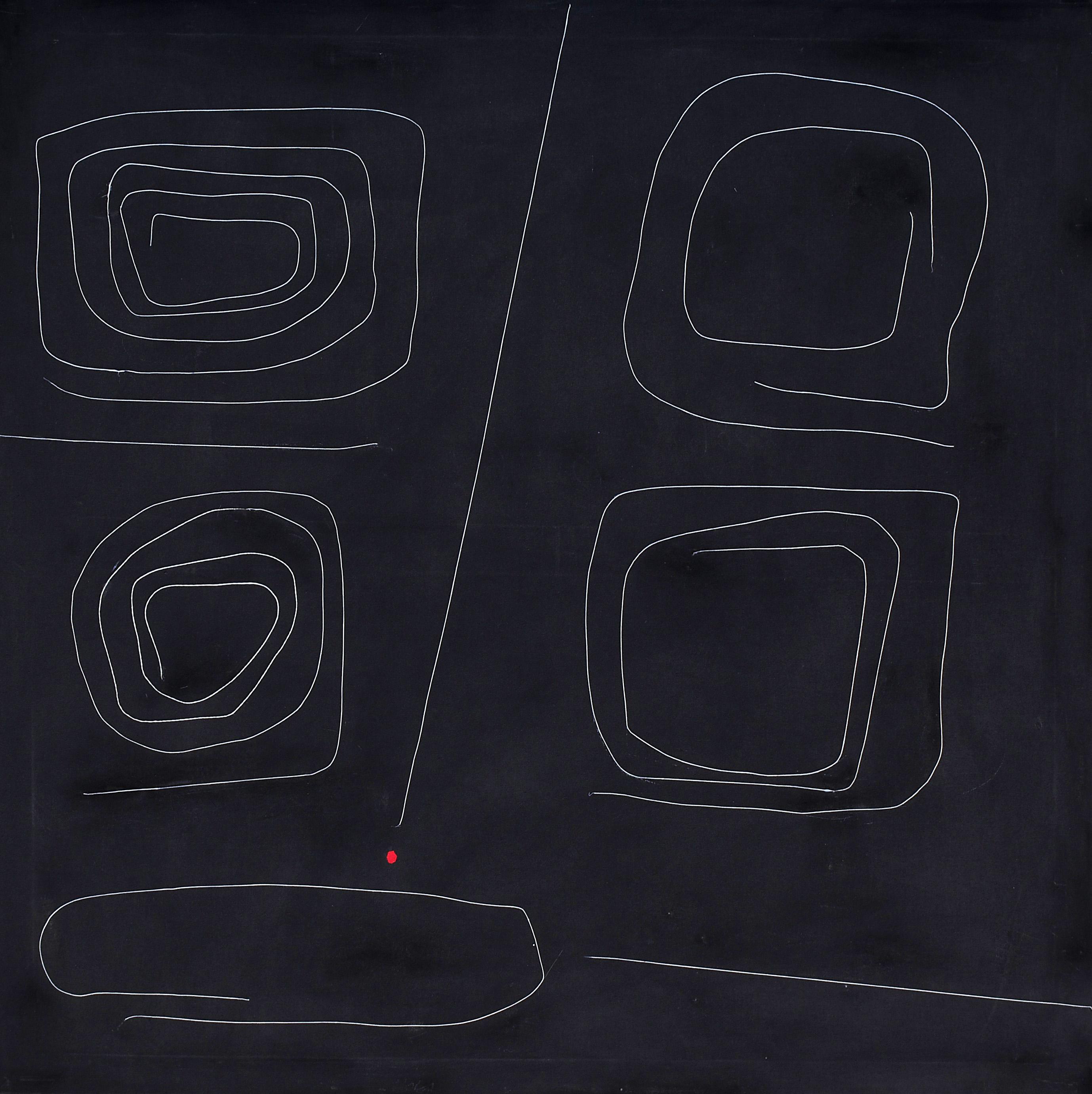 Achille Pace - Labirinto uno, 1968